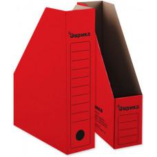 Накопитель архивный 75 мм. красный