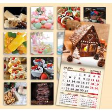 Календарь на скрепке - Десерты