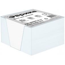 БК995Э ст - Блок-кубарик  запасной,в пластиковой подставке, в термоусадке, белый ЭКОНОМ