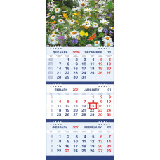 Календарь МАЛОЕ ТРИО - Полевые цветы