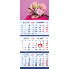 Календарь МАЛОЕ ТРИО - Букет от сердца