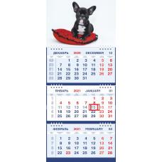 Календарь МАЛОЕ ТРИО - Бульдожка