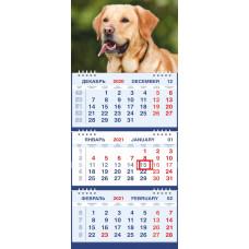 Календарь МАЛОЕ ТРИО - Лабрадор