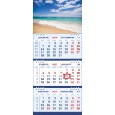 Календарь МАЛОЕ ТРИО - Прибрежная волна