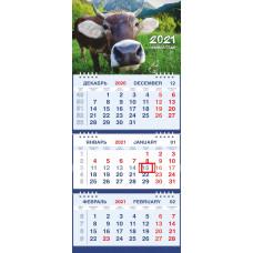 Календарь МАЛОЕ ТРИО - Бык в горах