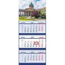 Казанский собор Санкт-Петербурга весной